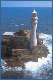 Lighthouses In Ireland Map.Fastnet Rock Mizen Head Visitor Centre Irish Lighthouses